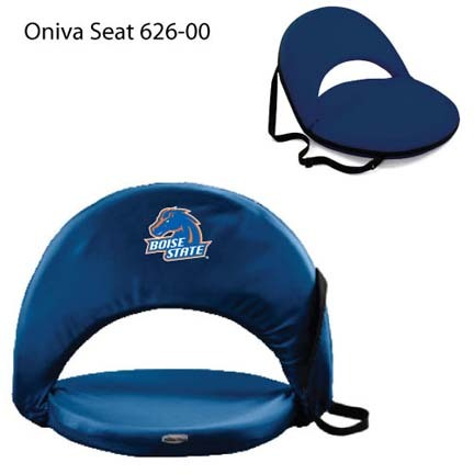 """Boise State Broncos """"Oniva Seat"""" Portable Recreational Recliner"""