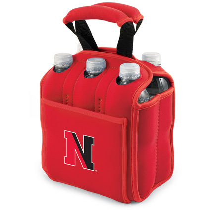 """Northeastern Huskies """"Six Pack"""" Insulated Cooler Tote with Screen Printed Logo"""