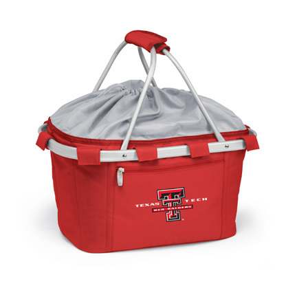 Texas Tech Red Raiders Collapsible Picnic Basket