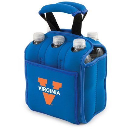 """Virginia Cavaliers """"Six Pack"""" Insulated Cooler Tote with Screen Printed Logo"""
