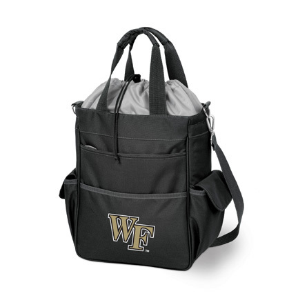 """Wake Forest Demon Deacons """"Activo"""" Waterproof Tote with Screen Printed Logo"""