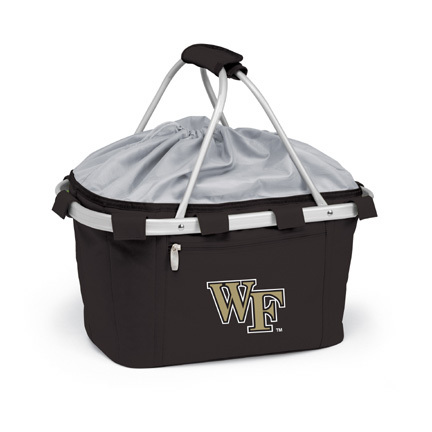 Wake Forest Demon Deacons Collapsible Picnic Basket