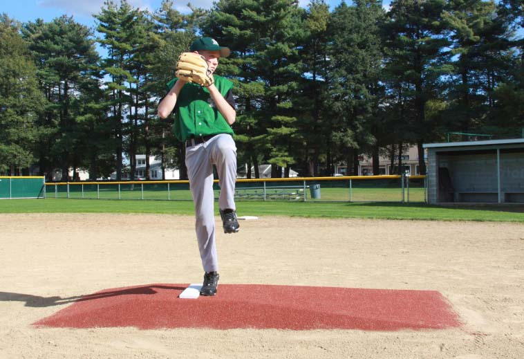 """ProMounds Little League Pitching Game Mound - """"Major League Style"""" in Clay colored Turf"""