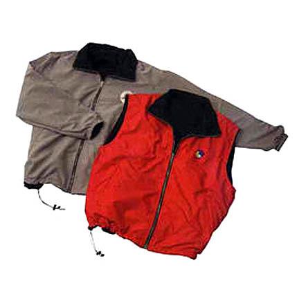Microfiber Reversible Jacket