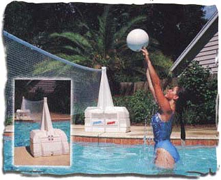 Super Water Volley Volleyball System Pool Game by Pool Shot
