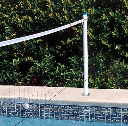 Spike and Splash Deck Mount Water Volleyball System by Pool Shot