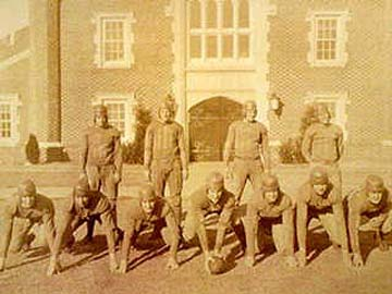 """Unidentified 1920 Team in front of University 11"""" x 14"""" Framed Photograph from Past Time Sports"""