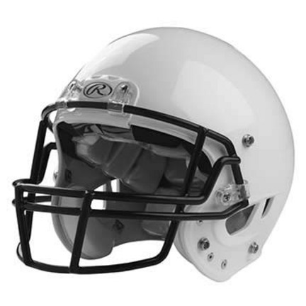Rawlings NRG Momentum Youth Football Helmet (White)