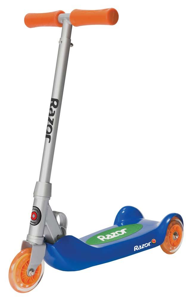 Click here for Razor Jr. Folding Kiddie Kick Scooter (Blue / Oran... prices