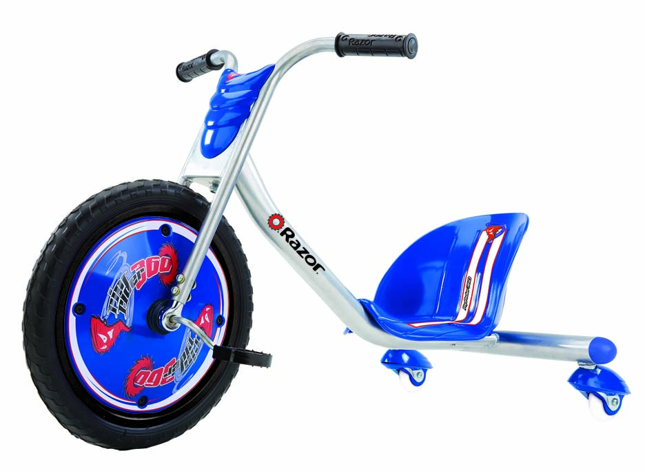 Click here for Razor RipRider 360 Caster Tricycle (Blue) prices