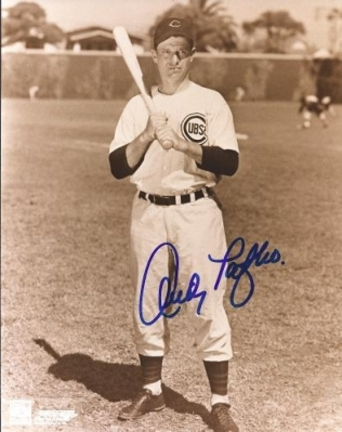 """Andy Pafko Autographed Chicago Cubs 8"""" x 10"""" Photograph (Unframed)"""