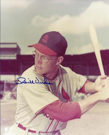 Bill Virdon Autographed St. Louis Cardinals 8