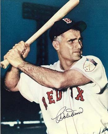 """Bobby Doerr Autographed Boston Red Sox 8"""" x 10"""" Photograph Hall of Famer (Unframed)"""