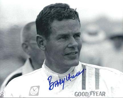 "Bobby Unser Autographed Racing 8"" x 10"" Photograph (Unframed)"