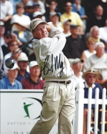"""Bob May Autographed Golf 8"""" x 10"""" Photograph (Unframed)"""