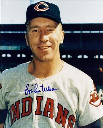 """Bob """"Red"""" Wilson Autographed Cleveland Indians 8"""" x 10"""" Photograph (Unframed)"""