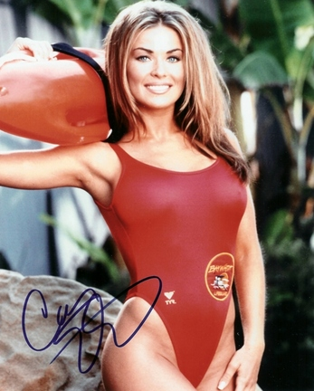 "Carmen Electra Autographed ""Baywatch"" 8"" x 10"" Photograph (Unframed)"