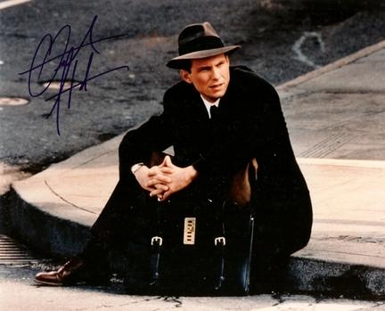 "Christian Slater Autographed 8"" x 10"" Photograph (Unframed)"