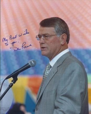 "Dan Reeves Autographed Denver Broncos 8"" x 10"" Photograph (Unframed)"