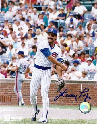 """Davey Lopes Autographed Chicago Cubs 8"""" x 10"""" Photograph (Unframed)"""