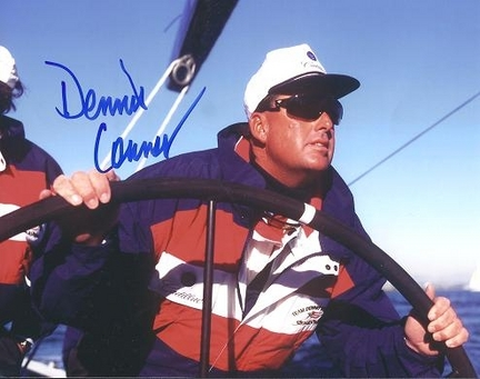 """Dennis Connor Autographed Boating 8"""" x 10"""" Photograph (Unframed)"""