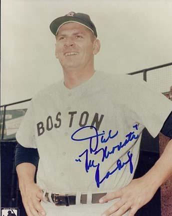 Dick Radatz Autographed Boston Red Sox 8