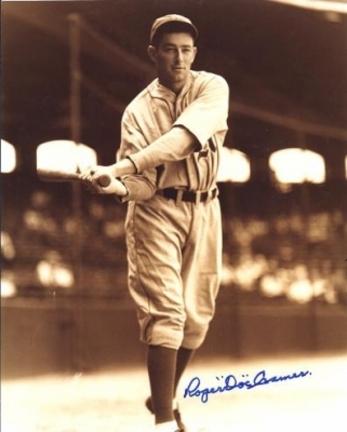 "Doc Cramer Autographed Philadelphia Athletics 8"" x 10"" Photograph (Deceased) (Unframed)"