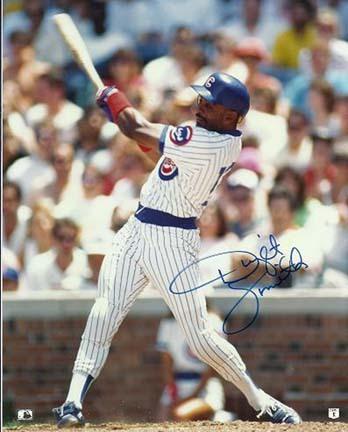 """Dwight Smith Autographed Chicago Cubs 8"""" x 10"""" Photograph (Unframed)"""