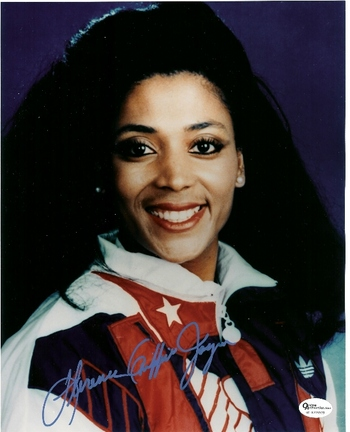 "Florence Griffith-Joyner Autographed Olympic 8"" x 10"" Photograph (Unframed)"