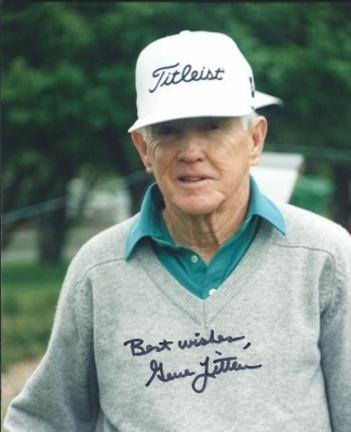 """Gene Littler Autographed Golf 8"""" x 10"""" Photograph (Unframed)"""