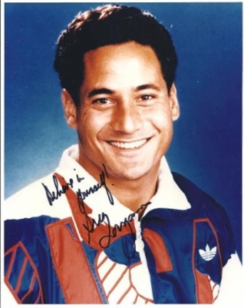 "Greg Louganis Autographed Swimming 8"" x 10"" Photograph (Unframed)"