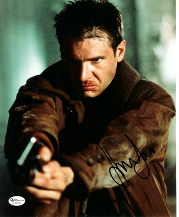 """Harrison Ford Autographed 8"""" x 10"""" Photograph (Unframed)"""