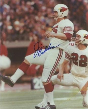 "Jim Bakken Autographed St. Louis Cardinals 8"" x 10"" Photograph (Unframed)"
