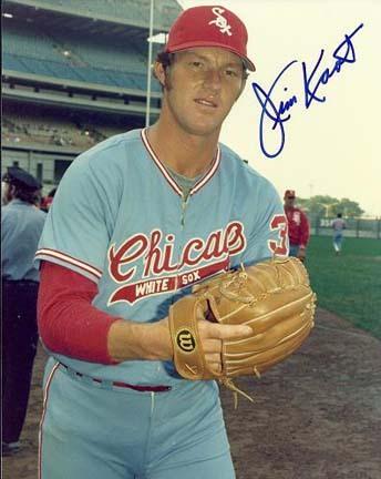 Jim Kaat Autographed Chicago White Sox 8