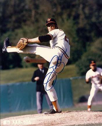 "Jim Palmer Autographed Baltimore Orioles 8"" x 10"" Photograph (Unframed)"