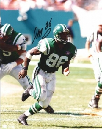 "Johnny Mitchell Autographed New York Jets 8"" x 10"" Photograph (Unframed)"