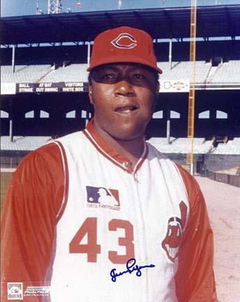 "Juan Pizarro Autographed Cleveland Indians 8"" x 10"" Photograph (Unframed)"
