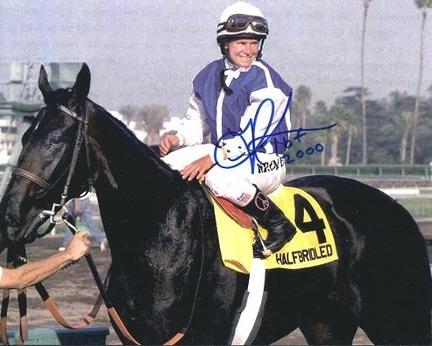 """Julie Krane Autographed Jockey 8"""" x 10"""" Photograph (Unframed)"""
