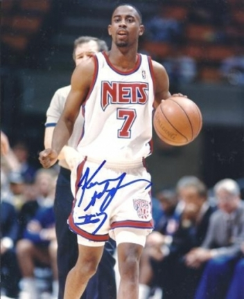 "Kenny Anderson Autographed New Jersey Nets 8"" x 10"" Photograph (Unframed)"