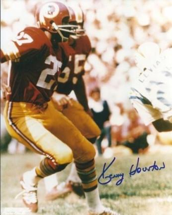 "Kenny Houston Autographed Washington Redskins 8"" x 10"" Photograph Hall of Famer (Unframed)"