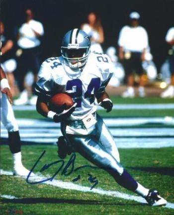 """Larry Brown Autographed Dallas Cowboys 8"""" x 10"""" Photograph Super Bowl MVP (Unframed)"""