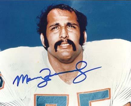"Manny Fernandez Autographed Miami Dolphins 8"" x 10"" Photograph (Unframed)"