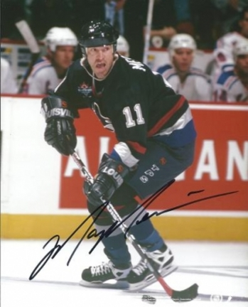 """Mark Messier """"Action"""" Autographed Vancouver Canucks 8"""" x 10"""" Photograph (Unframed)"""