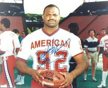"Michael Dean Perry Autographed Pro Bowl 8"" x 10"" Photograph (Unframed)"