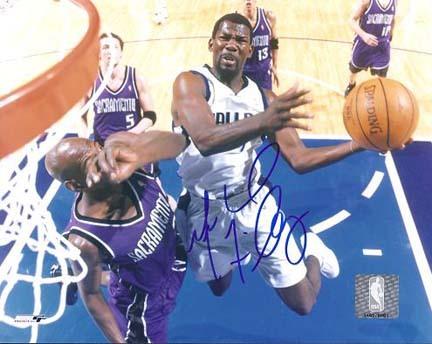 "Michael Finley Autographed Dallas Mavericks 8"" x 10"" Photograph (Unframed)"