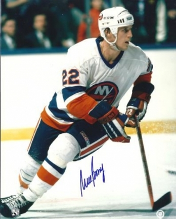 "Mike Bossy Autographed New York Islanders 8"" x 10"" Photograph (Unframed)"