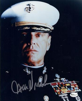 "Jack Nicholson Autographed ""A Few Good Men"" 8"" x 10"" Photograph (Unframed)"