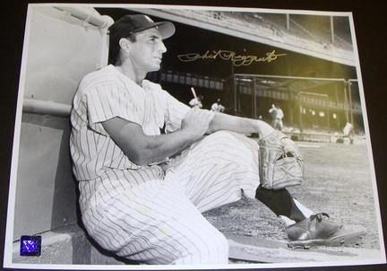 """Phil Rizzuto Autographed New York Yankees 11"""" x 14"""" Photograph (Unframed)"""