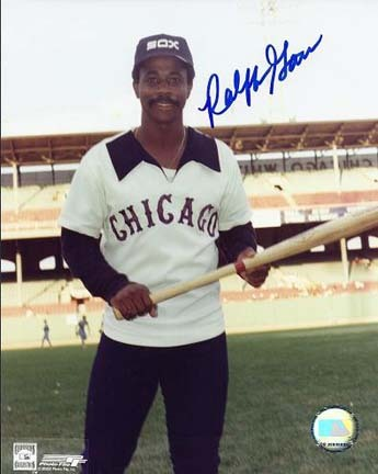 "Ralph Garr Autographed Chicago White Sox 8"" x 10"" Photograph (Unframed)"