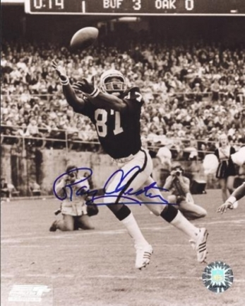 "Raymond Chester Autographed Oakland Raiders 8"" x 10"" Photograph (Unframed)"